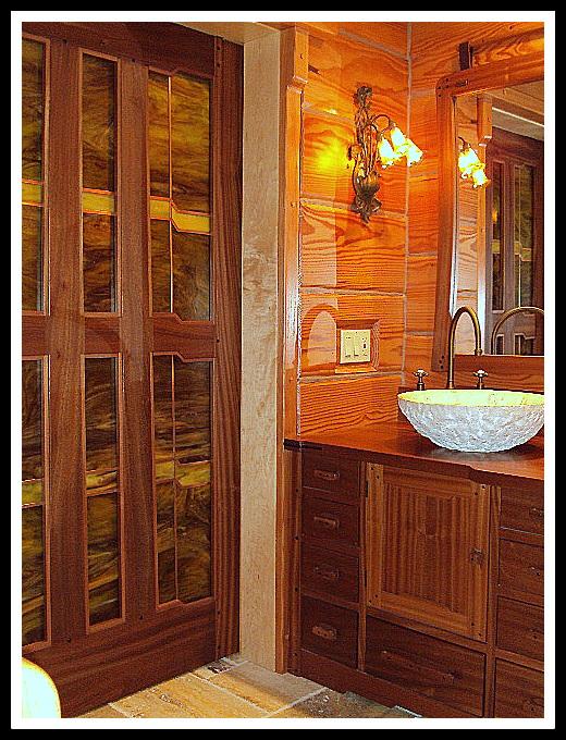 Greene Greene Style Door
