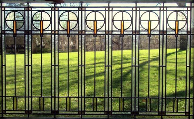 Balloon Motif Window